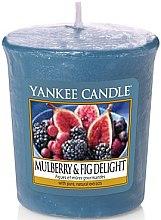 Parfumuri și produse cosmetice Lumânare aromatică - Yankee Candle Mulberry and Fig Delight Votive