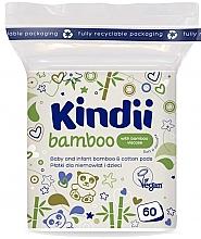 Parfumuri și produse cosmetice Discuri de bumbac pentru bebeluși și copii - Kindii Bamboo Cotton Pads