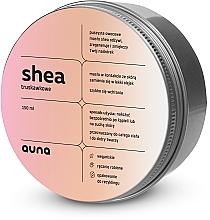 """Parfumuri și produse cosmetice Unt de shea pentru față și corp """"Căpșuni"""" - Auna Shea Strawberry Butter"""