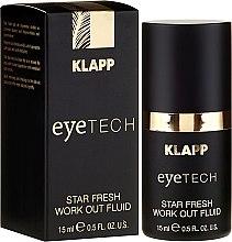 Parfumuri și produse cosmetice Fluid pentru ochi - Klapp Eyetech Star Fresh Work Out Fluid