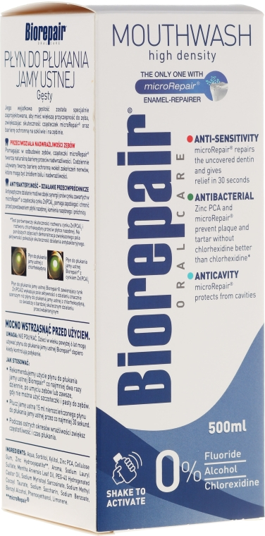 """Balsam pentru dinți """"Protecție și Restaurare profesională"""" - Biorepair Plus"""