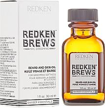 Parfumuri și produse cosmetice Ulei pentru barbă - Redken Brews Beard & Skin Oil