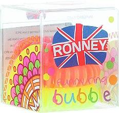 Parfumuri și produse cosmetice Elastic de păr S26MAT, 3,5 cm, 3 buc. - Ronney