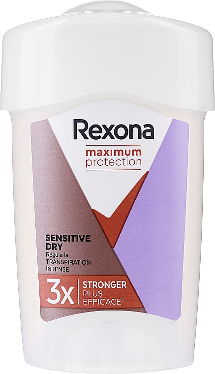 Deodorant stick - Rexona Maximum Protection Sensitive Dry