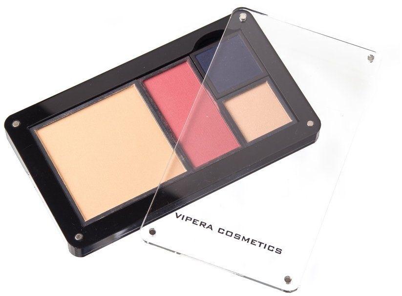 Husă pentru farduri de ochi - Vipera Magnetic Play Zone Medium Satin Palette — Imagine N6