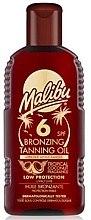 Parfumuri și produse cosmetice Ulei de corp - Malibu Bronzing Tanning Oil SPF 6