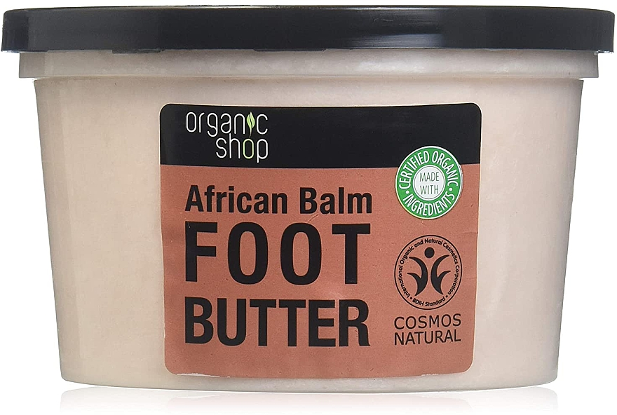 "Ulei de picioare ""Balsam African"" - Organic Shop Organic Hibiscus & 7 Oils Foot Butter — Imagine N2"