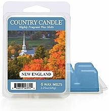 Parfumuri și produse cosmetice Ceară pentru lampă aromatică - Country Candle New England Wax Melts