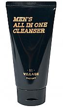 Parfumuri și produse cosmetice Spumă-scrub hidratantă de curățare - Village 11 Factory Men's All In One Cleanser