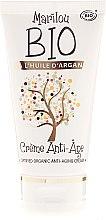 Parfumuri și produse cosmetice Cremă facială anti-îmbătrânire cu ulei de argan - Marilou Bio Creme Anti-Age