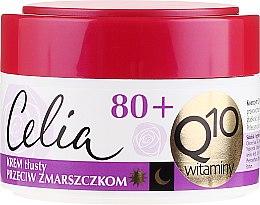 """Parfumuri și produse cosmetice Cremă împotriva coșurilor """"Vitamin"""" - Celia Q10 Face Cream 80+"""