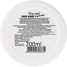Mască regenerantă pentru păr - Nacomi Regenerating Hair Mask — Imagine N2