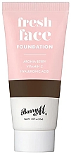 Parfumuri și produse cosmetice Fond de ten - Barry M Fresh Face Liquid Foundation