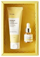 Parfumuri și produse cosmetice Set - iUNIK Propolis Edition Skin Care Set (mask/60ml + ser/15ml)