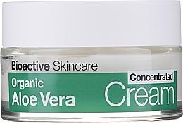 Cremă concentrată cu extract de Aloe Vera - Dr.Organic Bioactive Skincare Aloe Vera Concentrated Cream — Imagine N2