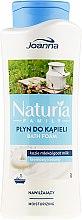 Parfumuri și produse cosmetice Spumă pentru baie - Joanna Naturia Family Bath Foam Goat Milk