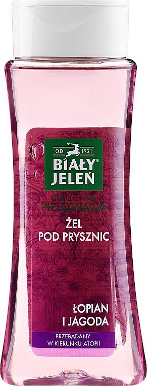 Gel de duș cu brusture și fructe de pădure - Bialy Jelen Burdock And Berry Shower Gel — Imagine N1