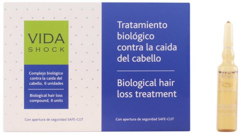 Fiole pentru păr - Luxana Vida Shock Ampoule Anticaida — Imagine N1