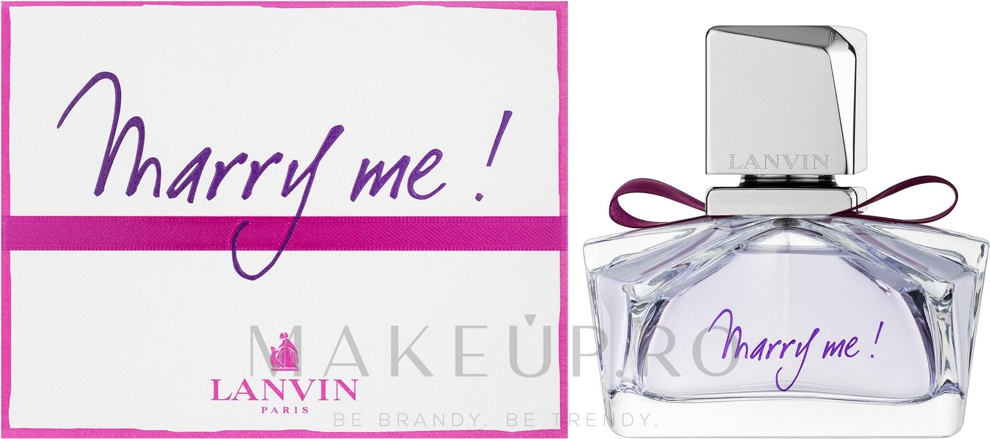 Lanvin Marry Me - Apă de parfum — Imagine 30 ml