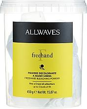 Parfumuri și produse cosmetice Pudră decolorantă de păr - Allwaves Freehand Bleaching Powder