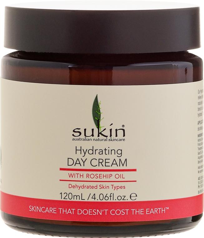Cremă hidratantă de zi pentru față - Sukin Rose Hip Hydrating Day Cream — Imagine N5