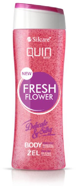 """Gel-scrub pentru corp """"Flori tropice"""" - Silcare Quin Peeling Fresh Flower"""