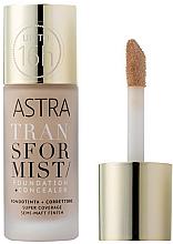 Parfumuri și produse cosmetice Fond de ten + concealer - Astra Transformist Foundation + Concealer