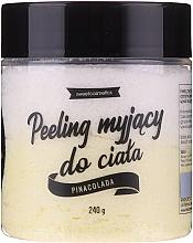 """Parfumuri și produse cosmetice Spumă-peeling de corp """"Pina Colada"""" - Lalka"""