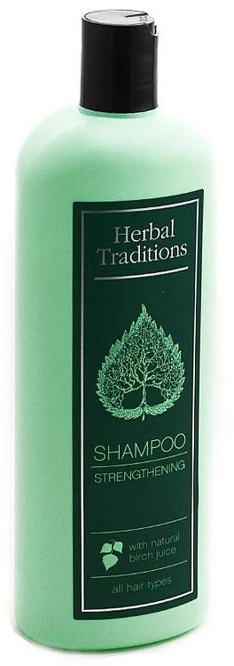 Șampon cu seva de mesteacăn, efect de întărire - Herbal Traditions Shampoo Strengthening With Natural Birch Juice