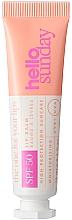 Parfumuri și produse cosmetice Balsam de buze cu protecție solară - Hello Sunday The One For Your Lips Clear Lip Balm SPF 50