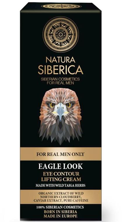 """Cremă lifting pentru pielea din jurul ochilor """"Privirea vulturului"""" - Natura Siberica — Imagine N1"""