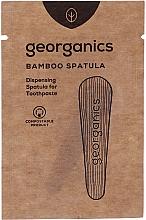 Parfumuri și produse cosmetice Spatulă pentru aplicarea pastei de dinți - Georganics