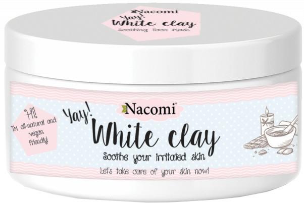 Argilă albă pentru față - Nacomi White Clay
