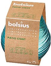 """Parfumuri și produse cosmetice Lumânare aromată în suport de sticlă """"Patiolight Sky"""", 94/91 mm - Bolsius"""