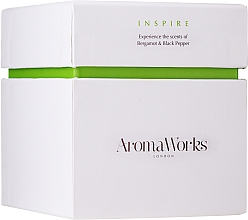 "Parfumuri și produse cosmetice Lumânare parfumată ""Inspirație"" - AromaWorks Inspire Candle"