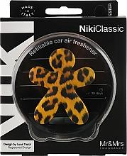 Parfumuri și produse cosmetice Odorizant pentru mașină - Mr&Mrs Niki Vanilla & Patchouly Brown Fantasy Animalier