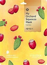 Parfumuri și produse cosmetice Mască cu extract de cactus pentru față - Fruida My Orchard Squeeze Mask Cactus