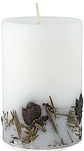 """Parfumuri și produse cosmetice Lumânare parfumată """"Cedru"""", 65/100 - Bulgarian Rose Aromatherapy Candle Cedar"""