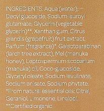 Gel de curățare pentru pielea normală și grasă - Natural Being Manuka Cleanser — Imagine N4