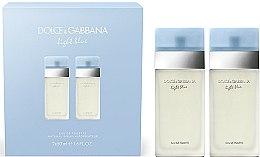 Parfumuri și produse cosmetice Dolce & Gabbana Light Blue - Set (edt/2x50ml)