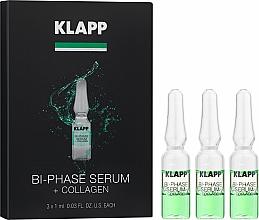 """Parfumuri și produse cosmetice Ser bifazic """"Colagen"""" - Klapp Bi-Phase Serum Collagen"""