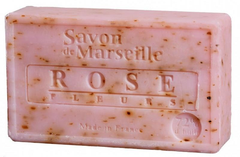 Săpun - Le Chatelard 1802 Savon de Marseille Rose Fleurs — Imagine N1