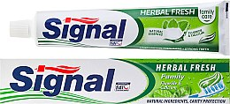 Parfumuri și produse cosmetice Pastă de dinți pe bază de plante - Signal Family Herbal Fresh Toothpaste