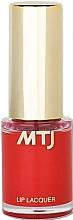 Parfumuri și produse cosmetice Lac de buze - MTJ Cosmetics Liquid Lip Lacquer Effect 6H