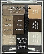 Parfumuri și produse cosmetice Paleta machiaj de ochi - Miss Sporty Designer All In One Eye Palette