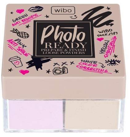 Pudră de față 2în1 - Wibo Photo Ready Loose Powder