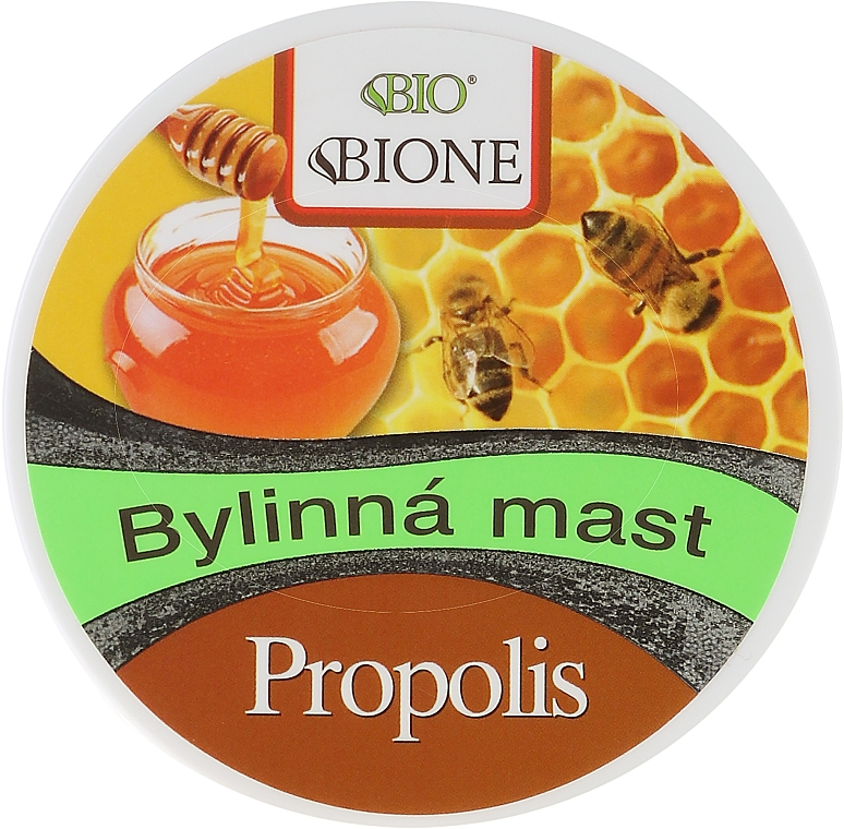 Cremă pentru corp - Bione Cosmetics Honey + Q10 Herbal Cream Propolis