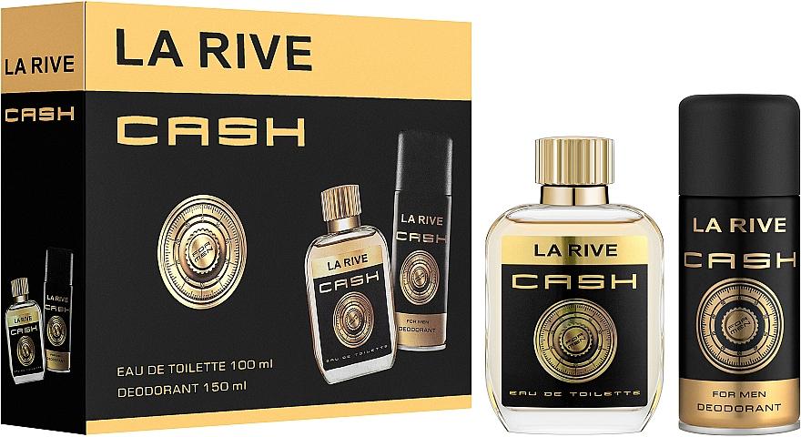 La Rive Cash - Set (edt/100ml + deo/150ml)