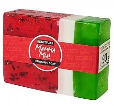 "Parfumuri și produse cosmetice Săpun natural ""Pepene verde"" - Beauty Jar Mamma Mia! Handmade Soap"