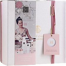 Parfumuri și produse cosmetice Set - Rituals The Ritual Of Sakura (sg/gel/200ml + b/cr/70ml + mist/50ml + scrub/125g)